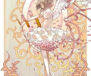 sakura card captor, sakura kinomoto, and anime girl image