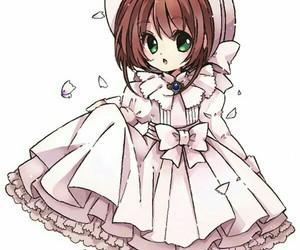 anime girl, chibi, and fan art image