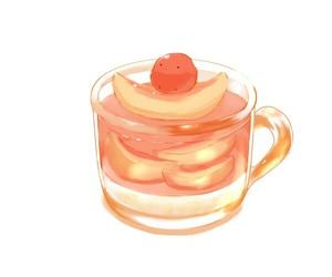 aesthetic, cup, and kawaii image