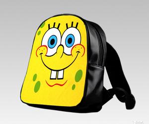bag, cartoon, and school image