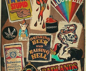 badlands, lucifer, and patches image