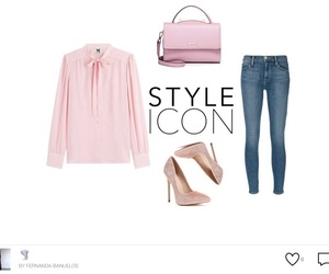 frame, pumps, and skinny jeans image