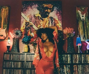 70s, disco, and Jimi Hendrix image
