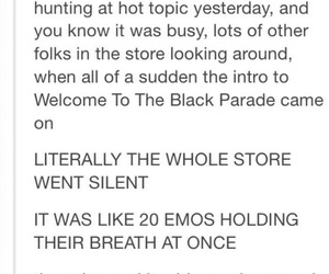 band, emo, and fandom image