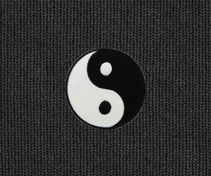 background, wallpaper, and yingyang image