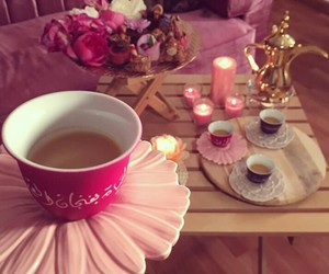 cappuccino, coffee, and ﻗﻬﻮﻩ image