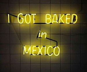 baked, mexican, and words image