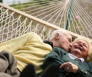 beautiful, old, and hammock image