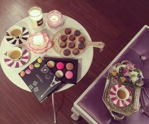 chocolate, coffee, and شكﻻطه image