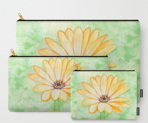 Aster, clutch, and daisy image