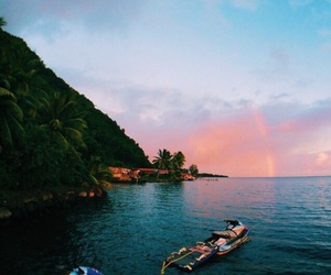summer, travel, and ocean image