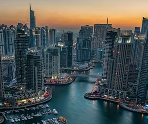 architecture, cityscape, and dubaï image