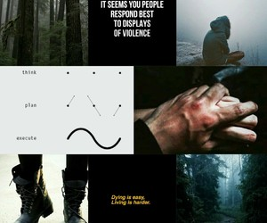 aesthetic, bellamy, and Collage image