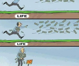 life and money image