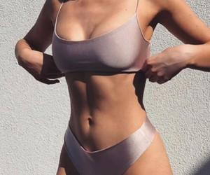 bikini, body, and summer image