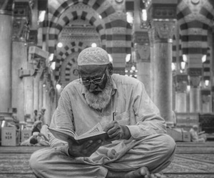 beauty, black and white, and islam image