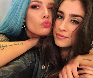 halsey, lauren jauregui, and lauren image