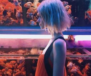 aquarium, blonde, and pale image