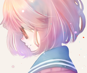 anime girl, digital art, and beyond the boundary image