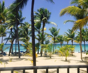 beach, Caribbean, and Dominican Republic image