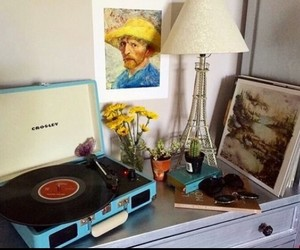 art, vintage, and music image