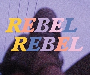 rebel, aesthetic, and quotes image