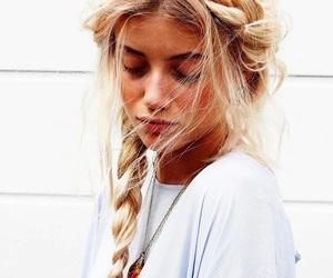 beautiful, braids, and beauty image