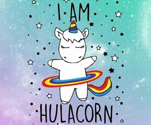 unicorn, wallpaper, and hulacorn image