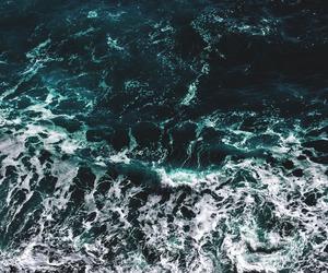sea, ocean, and landscape image