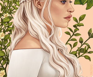 game of thrones, daenerys targaryen, and mother of dragons image