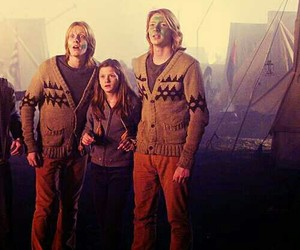 harry potter, weasley, and ginny image