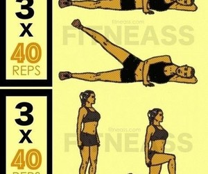 workout, fitness, and hips image