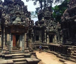 ancient, angkor wat, and asia image