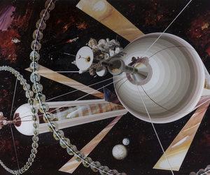 art, colony, and futurist image