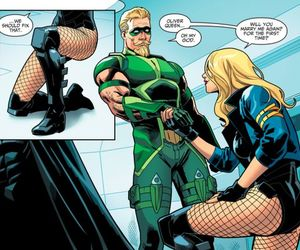 Black Canary, dc comics, and green arrow image