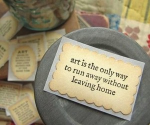 art, quote, and text image