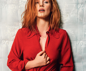 red and jessica chastain image
