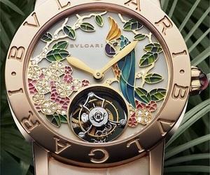 watch, bvlgari, and style image
