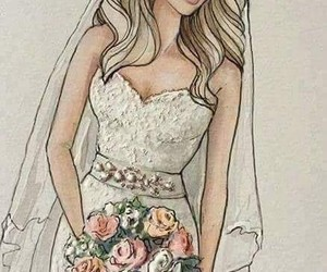 wedding and drawing image