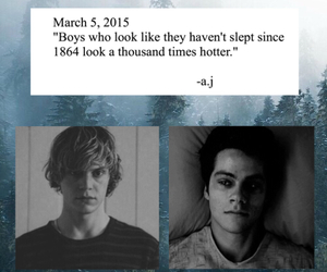 Hot, teen wolf, and ahs image