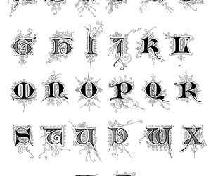 ABC, art, and font image