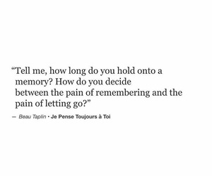 deep, let go, and memory image