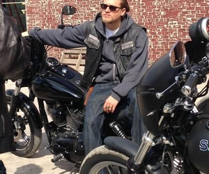 biker, motorcycles, and sons of anarchy image