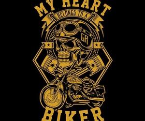 biker, bikers, and gang image