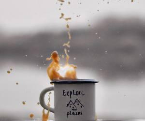 coffe, cup, and coffee image