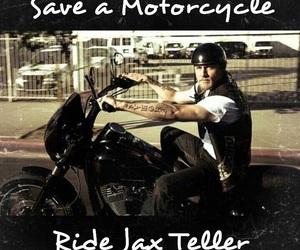 biker, bikers, and motorcycles image