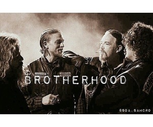 biker, Brotherhood, and sons of anarchy image
