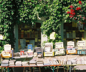 book shop, cool, and livros image