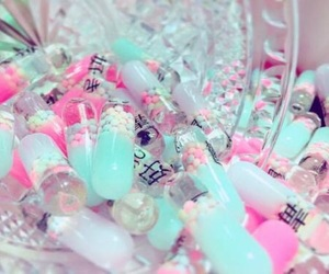 pastel and pills image