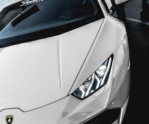 car, Lamborghini, and pink image